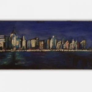 New York Skyline (Seaside) by Kay Woo-Ling