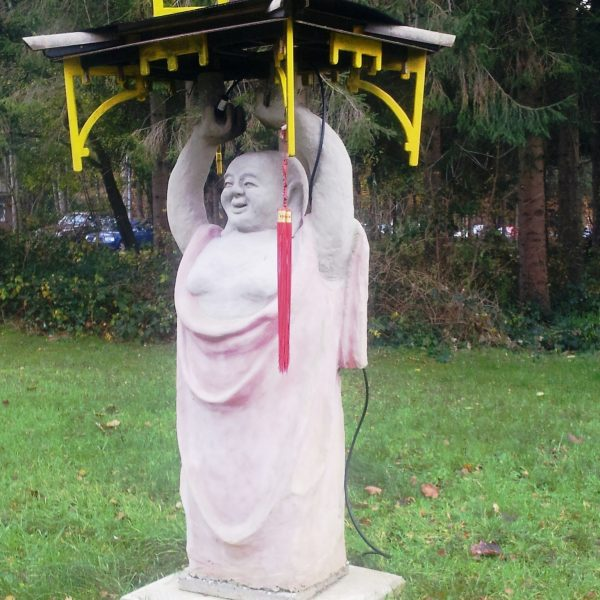 Buddha Statue mit Räucherfunktion by Peter-Fischer Blessin