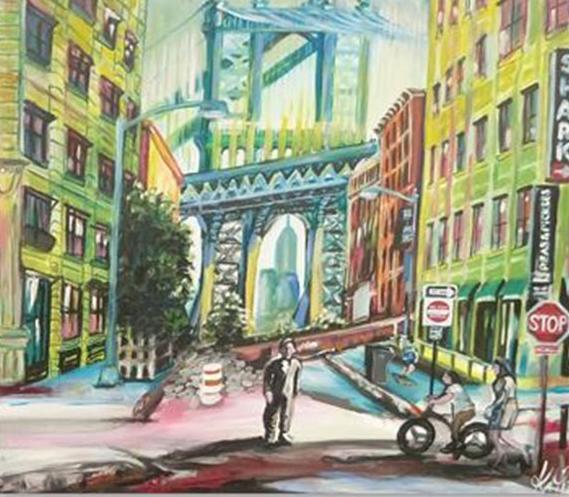 New York Brooklyn Bridge by Kay Woo-Ling
