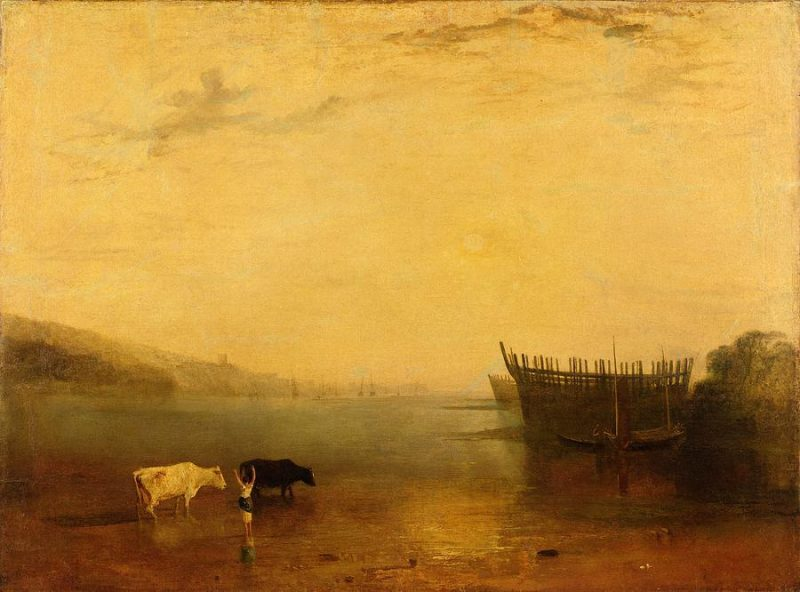 Teignmouth; Joseph Mallord William Turner; Exhibited in 1812; Oil Paint on Canvas; 900 x 1205mm; Tate Collection.