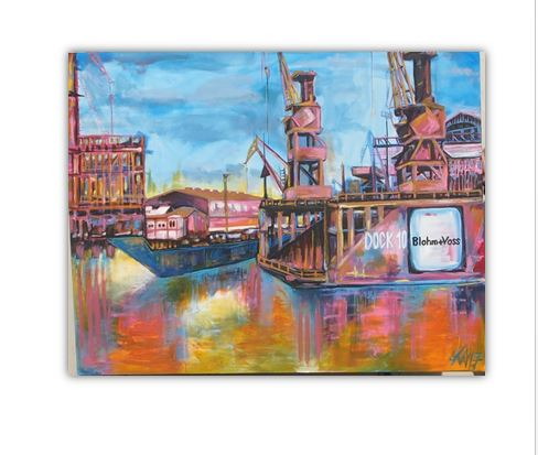 Hamburger Dock 10 – Blohm und Voss by Kay Woo-Ling