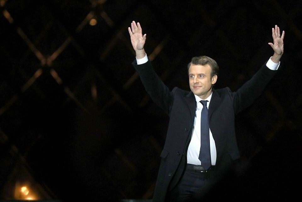 French President Emmanuel Macron has pledged to return African artefacts housed in French institutions to their country of origin ABACAPRESS.COM