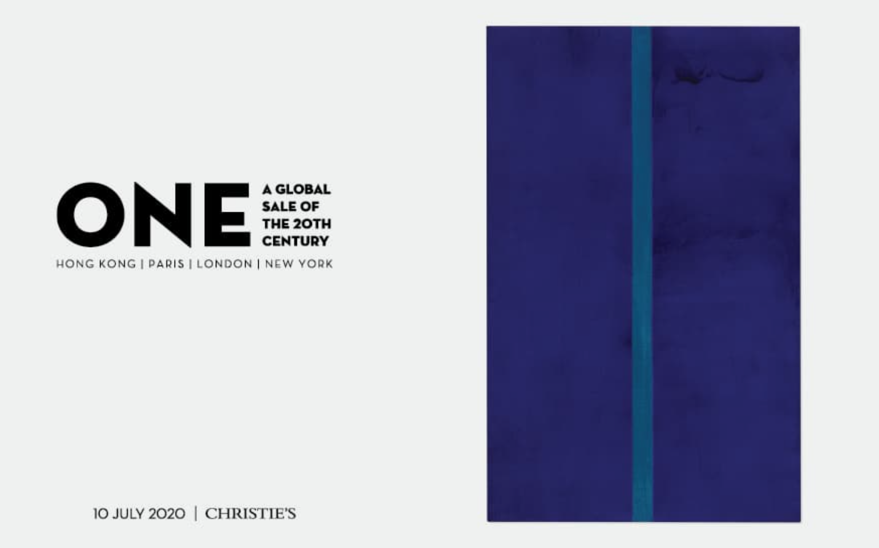 CHRISTIES ONE GLOBAL