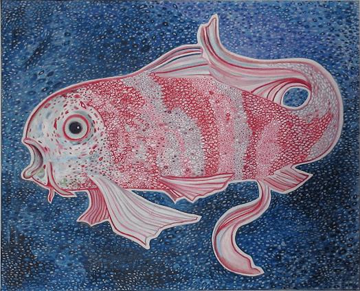 Farbenfroher Fisch von Zarathroxa
