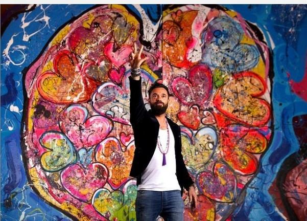 Sacha Jafri größte Gemälde der Welt