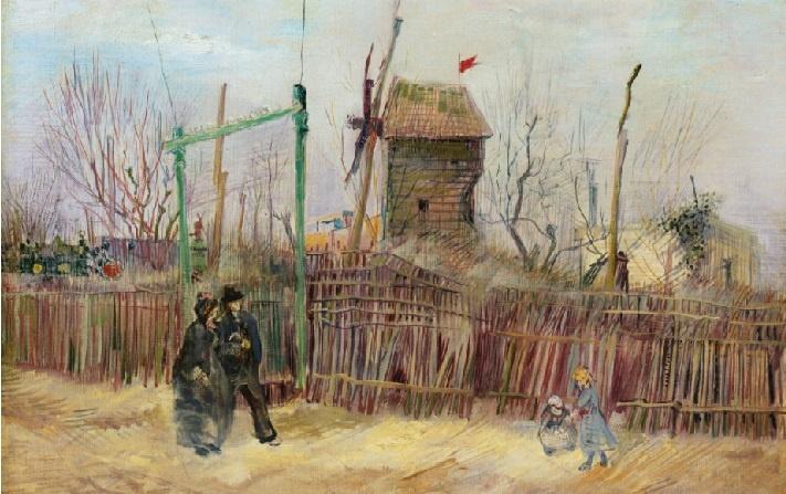 Van Gogh: Scène de rue à Montmartre Sothebys