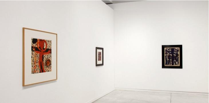 Louis Soutter Fingermalerei Galerie Karsten Greve