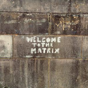 Suntzu888 Fotografie auf Leinwand Welcome to the Matrix willkommen in der matrix kunstdruck