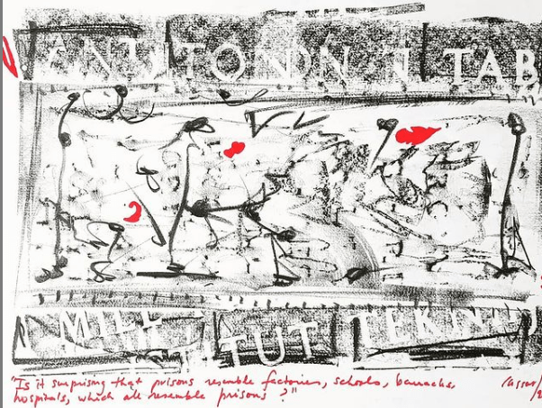 Mario Cassar Sacred Rubbings Ausstellung Kunst Malta