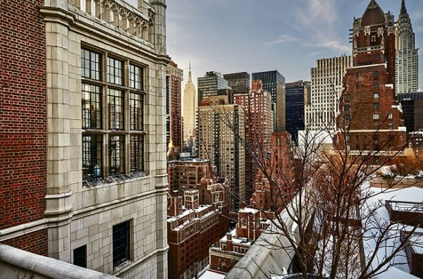 quiet nyc new york city fotokunst empire state building foto blizzard cp krenkler fotografie fine art print new york kunst art