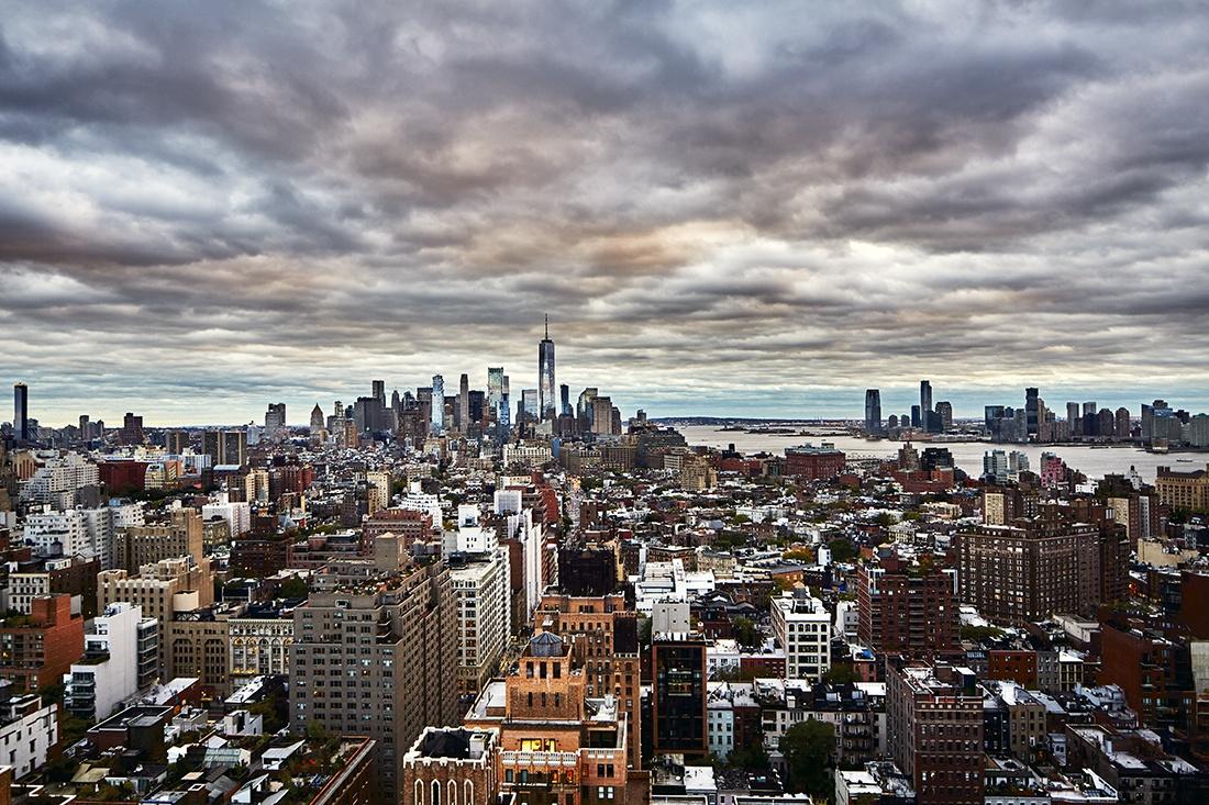 Freedom Tower Fotografie New York CP Krenkler Fine Art Print New York Skyline Kunstdruck Wolkenkratzer NYC Foto CP