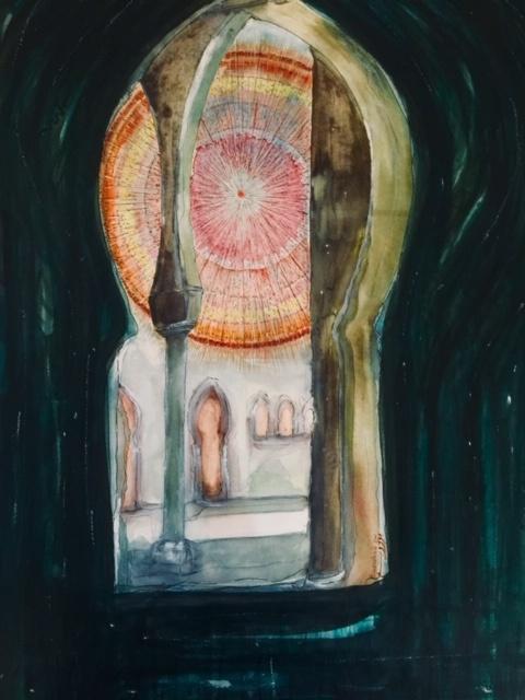 Die Sonne scheint für Alle. Julien B. Kunst digitale Ausstellung gegen rassismus kunst arttrado bouzoubaa