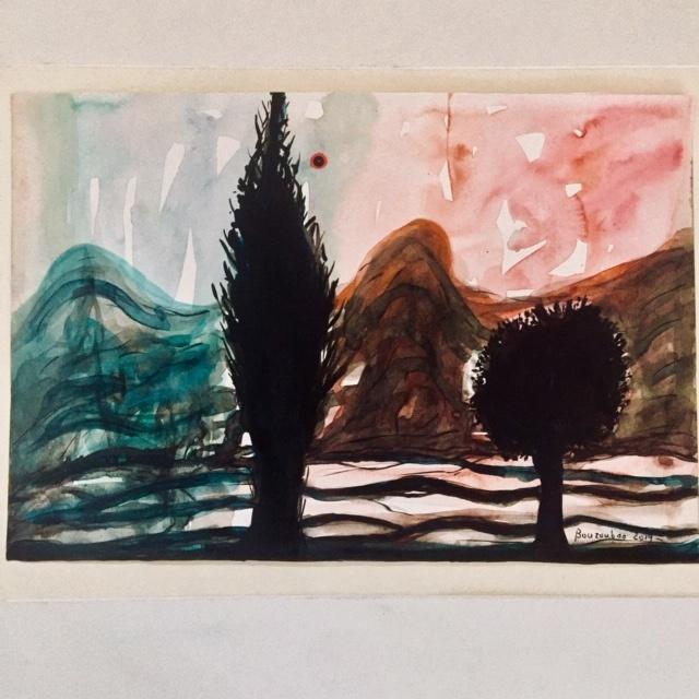 Julien Bouzoubaa Kunst Ausstellung Galerie make art not war liebe kunst menschheit bouzoubaa