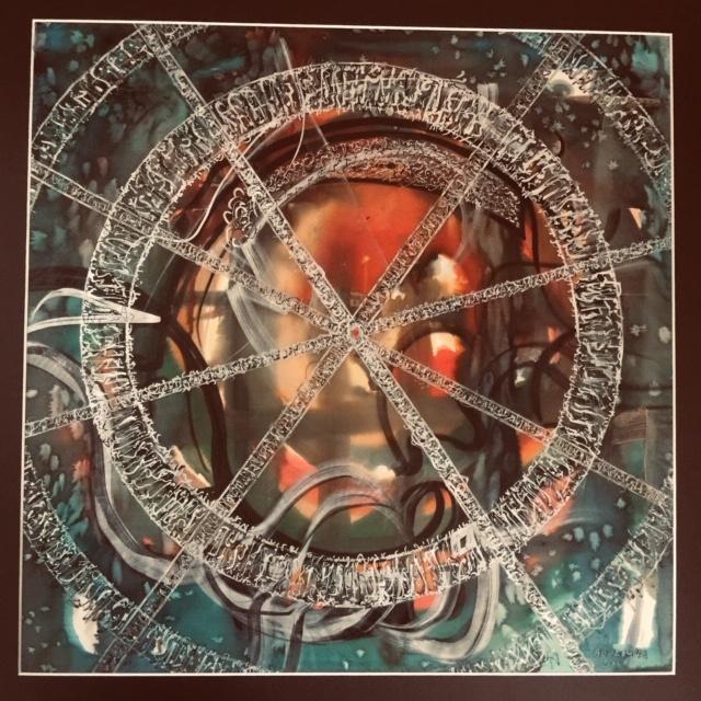Seidenmalerei Seidenkunst Kalligrafie Ausstellung Kunst Bouzoubaa