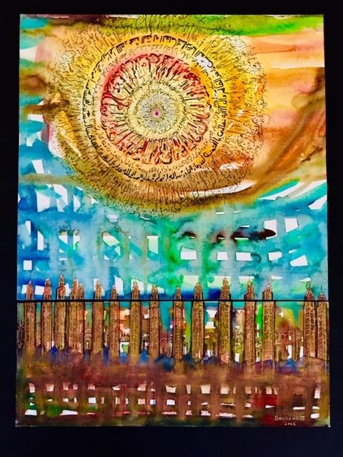 kalligrafie kunst ausstellung jerusalem julien b. bouzoubaa
