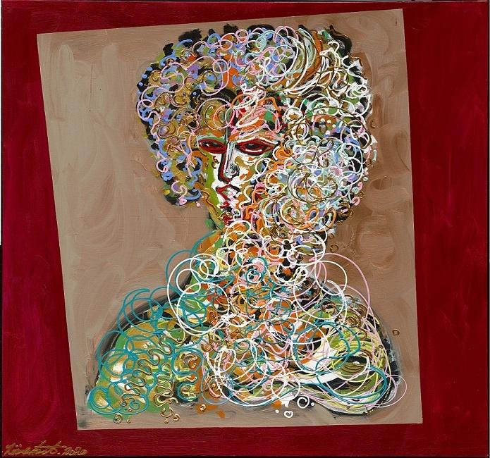 Leon Löwentraut Venedig Ausstellung La Duchesse Kunst in Italien Löwentraut Werke
