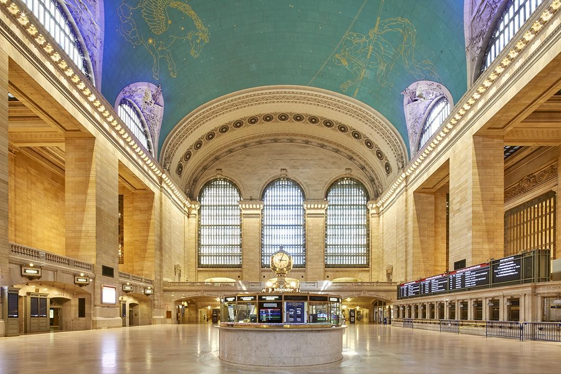 leerer Hauptbahnhof in New York Grand Central Station New York corona pandemie fotokunst cp krenkler fotografie