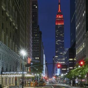 Empire State Building Corona New York City Pandemie NYC ESB CP KRENKLER FOTOGRAFIE FOTOS AUS NEW YORK FOTOKUNST ART