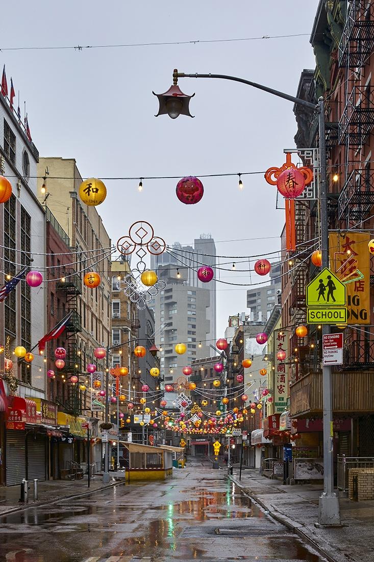 lockdown in chinatown new york city pandemie corona cp krenkler fotografie fotokunst fine art print lockdown fotos
