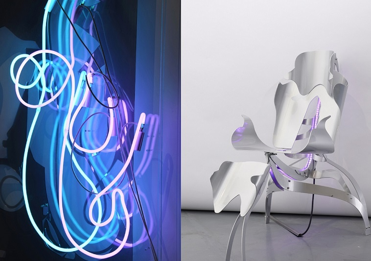 ANAÏS BORIE From dusk to dawn, cyborg chair, Photo setting: K11 artfoundation MORPH.LOVE 2019 ✨️ museum für kunst und gewerbe hamburg kunst in hamburg anais borie