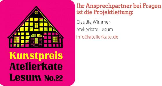 atelierkate claudia wimmer kunstpreis ausschreibung künstler gesucht call for artists kunst in bremen kunst preis
