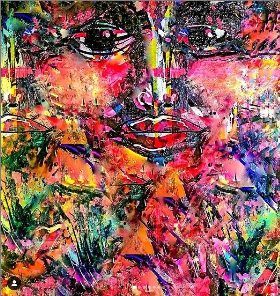 enas jusufov herzfarbenrausch kunst aus berlin abstrakte kunst online arttrado farbenrausch LGBTQ Kunst ART