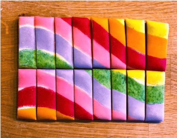 nudelkunst kunst aus nudeln kunst aus hamburg essbare kunst art food bunte nudeln von kristin forster ausstellung kunst zum essen nudel