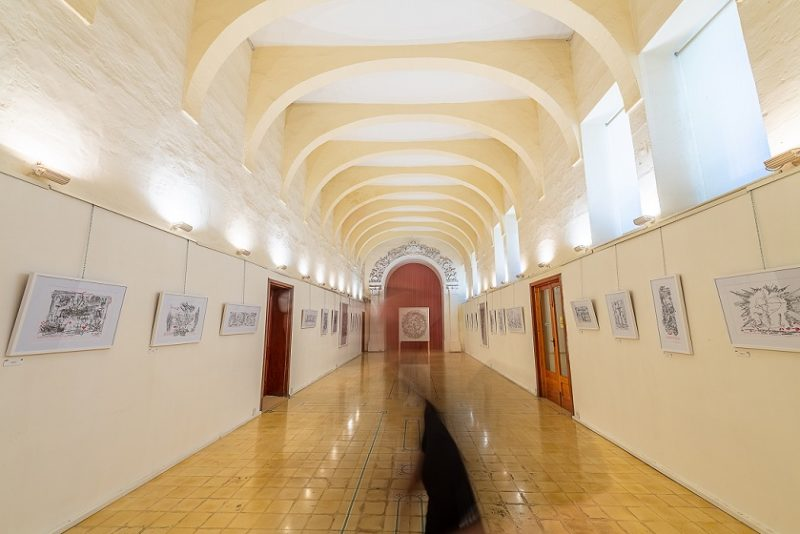 mario cassar sacred rubbings ministry gozo malta art exhibition out of bounds sacred rubbings cassar