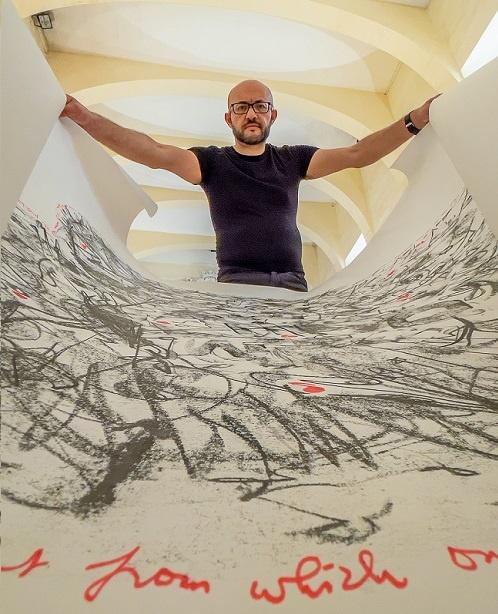 mario cassar sacred rubbings out of bounds art exhibition malta gozo maltese banksy cassar