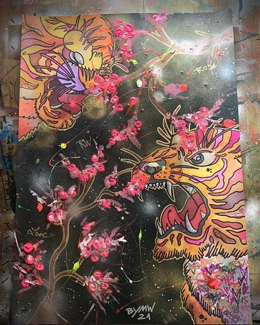 popart von malte wendland kunst aus hannover junge kunst online galerie erfahrung kunst kaufen arttrado BYMW Kunstwerke