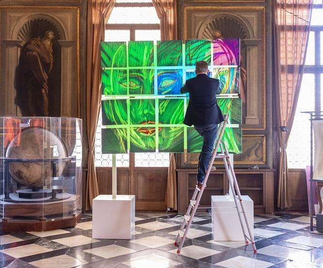 kilian saueressig interview lichtkunst ausstellung in venedig junge kunst online galerie erfahrung saueressig kunst kaufen online