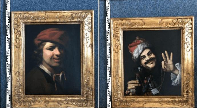 ölgemälde im müll gefunden kunst werke im müll polizei kunst ermittelt hinweise an polizei lost art found art kuriose kunstfälle