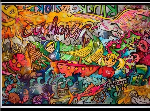 malte wendland popart ausstellung hannover kunst in hannover malte wendland pop art quarks bar