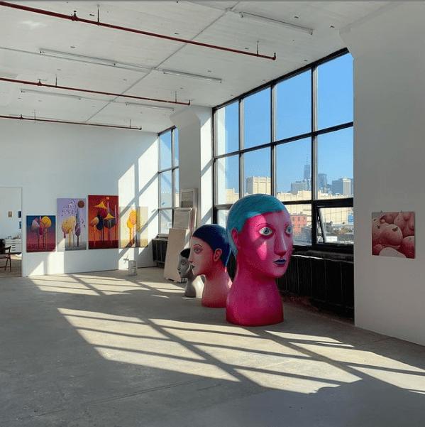 nicolas party kunst ausstellung kunst in lugano ruine ausstellung party new york künstler lugano galerie erfahrung