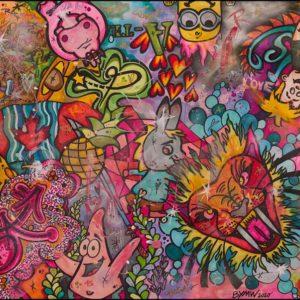malte wendland bymw canadian tiger kunstdrucke kunst kaufen online galerie arttrado erfahrung künstler popart lion