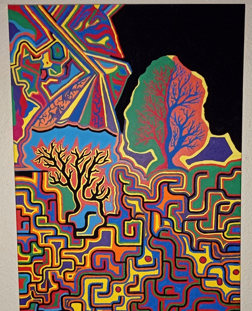 baumvision chaosdeterminismus nephisto kunst kaufen nicolas wezel kunst abstrakt arttrado online galerie erfahrung chaos changes nephistos werk Mephistopheles rex