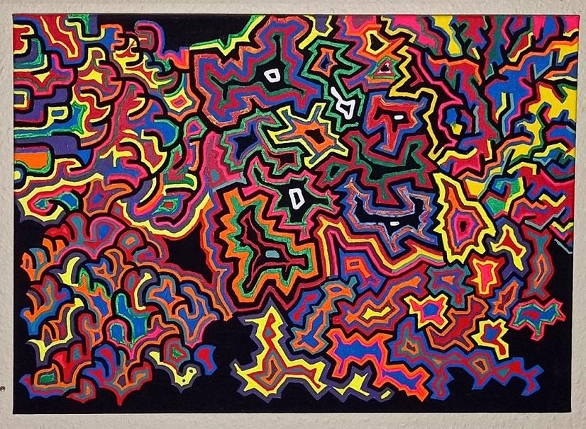 structure leaf baum baumvision chaosdeterminismus nephisto kunst kaufen nicolas wezel kunst abstrakt arttrado online galerie erfahrung chaos changes nephistos werk Mephistopheles rex
