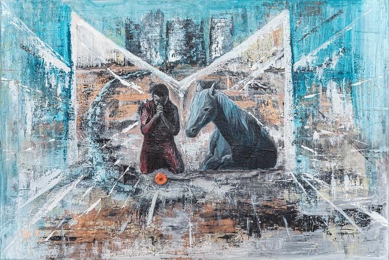 danke futhark runenkunst katja kirseck kakikunst interview kunst entdecken arttrado galerie
