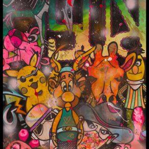 asterix and friends popart kunst kaufen online galerie arttrado bymw malte wendland hannover