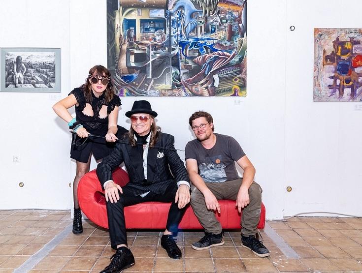 klaus barkowsky der schöne klaus künstler gruppe ewig hansa theater kunst in hamburg arttrado