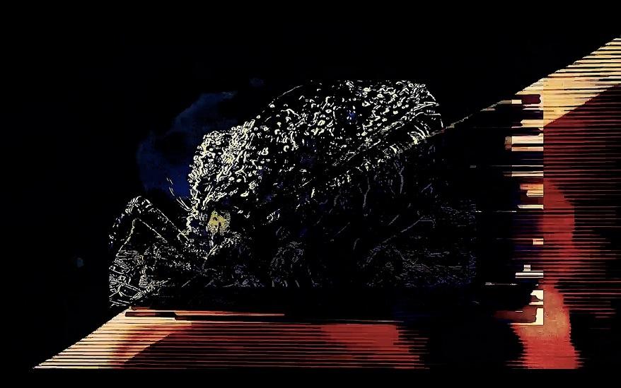 Robin Mödder-Super Laser Acid Crab Rmx kunstfestival freisti kunst in oberhausen kunst entdecken arttrado galerie