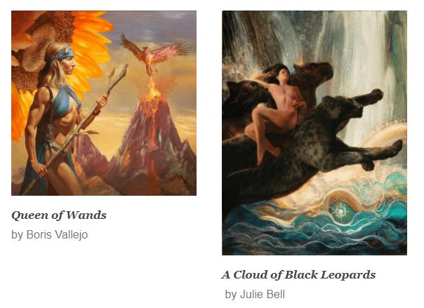 boris vallejo fine art prints julie bell artworks arttrado galerie kunst entdecken