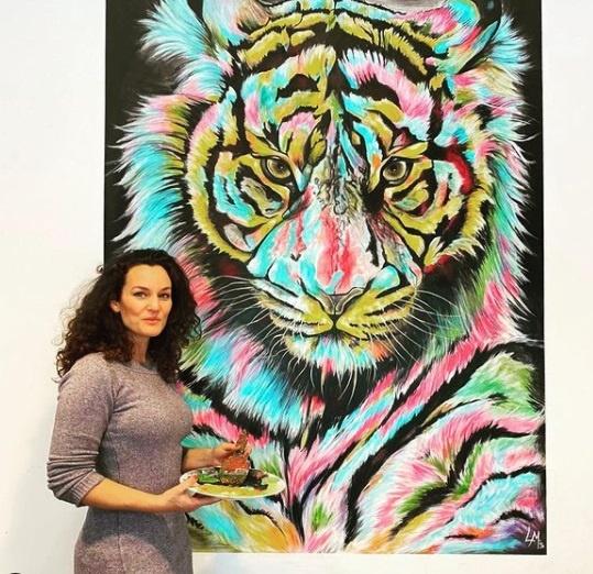 lisa mischke wandbild mural kunst entdecken arttrado online galerie kunstprojekte lisa mischke interview