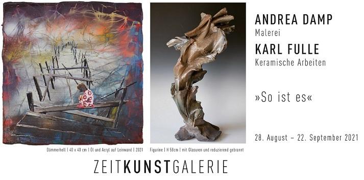 andrea damp ausstellung karl fulle kunst in halle zeit kunst galerie vernissage kunst kaufen online galerie arttrado künstler entdecken