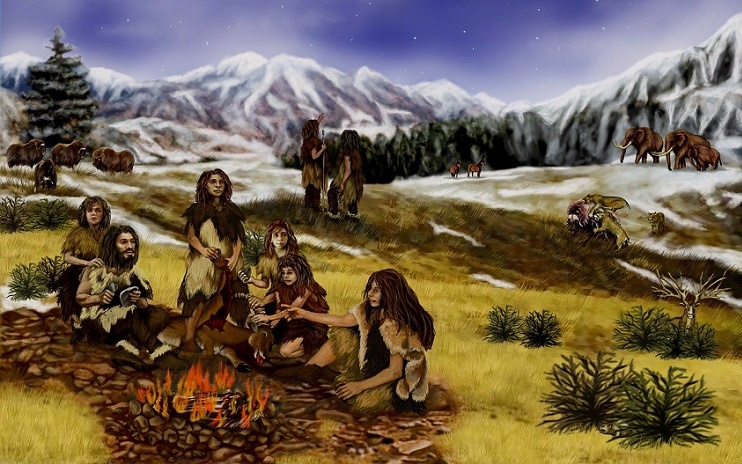 neandertaler kunst höhlenmalerei kunst kaufen online galerie arttrado älteste kunst der welt 65 000 Jahre alte kunstwerke