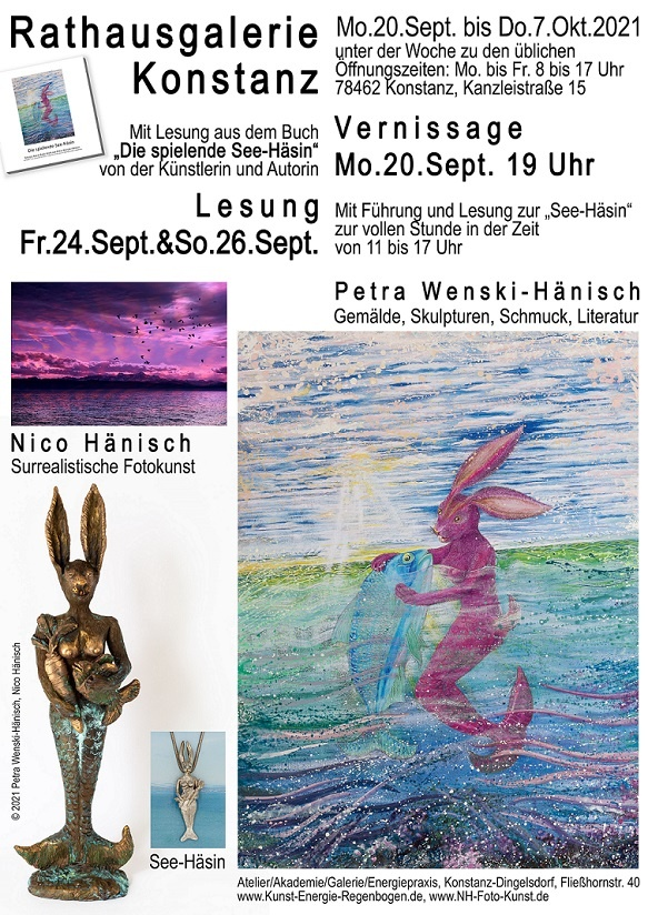 kunst in konstanz ausstellung rathausgalerie atelier regenbogenkunst arttrado kunstveranstaltung entdecken