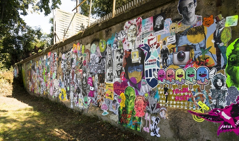 mini-streetart-festival urban art kunst in köln arttrado kunstveranstaltung entdecken junge kunst online