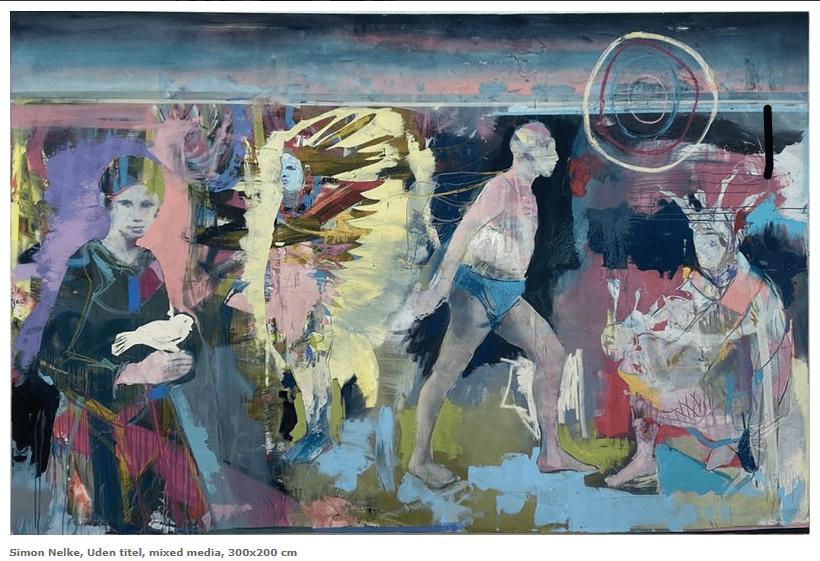 hamburger künstler simon nelke ausstellung dänemark aalborg galerie wolfsen kunst entdecken online galerie arttrado