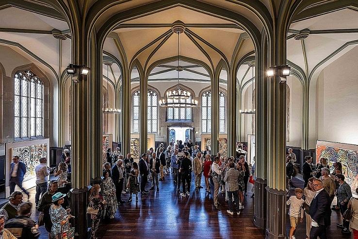 Löwentraut ausstellung galerie wos vernissage in zürich kunst in der schweiz arttrado junge kunst online entdecken